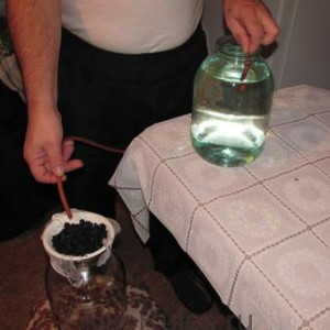 Как сделать фильтр для очистки самогона