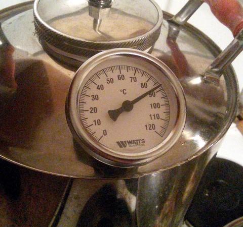 самогонный аппарат с термометром