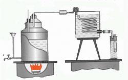 куб для перегонки самогона на схеме