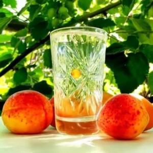 самогон из фруктов персиков