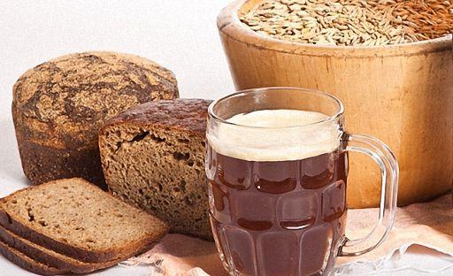 квас и хлеб