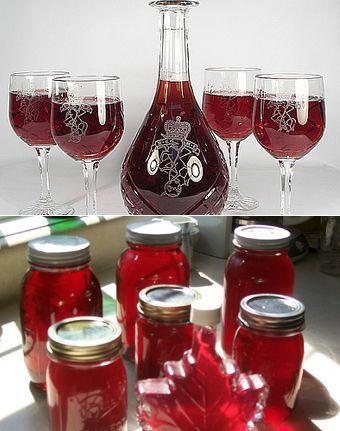 вино из домашнего варенья
