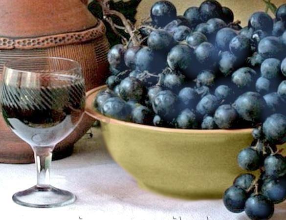 вино из темного винограда