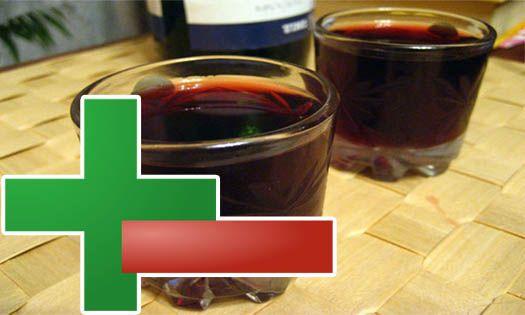 польза и вред домашнего вина
