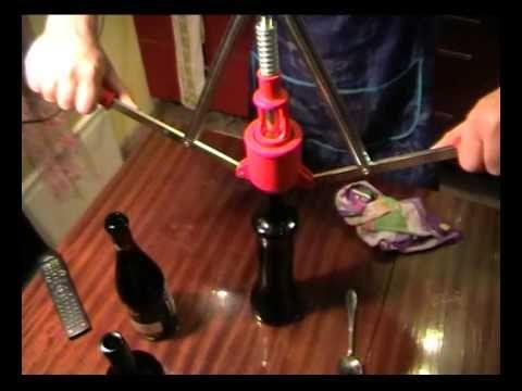 Укупорка вина в домашних условиях