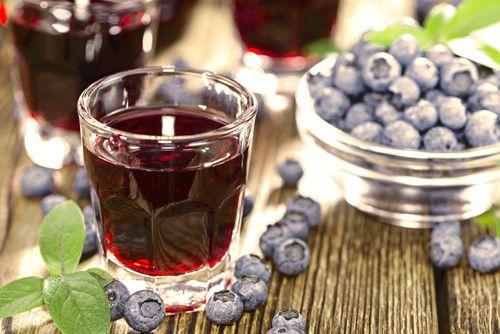 Домашнее черничное вино