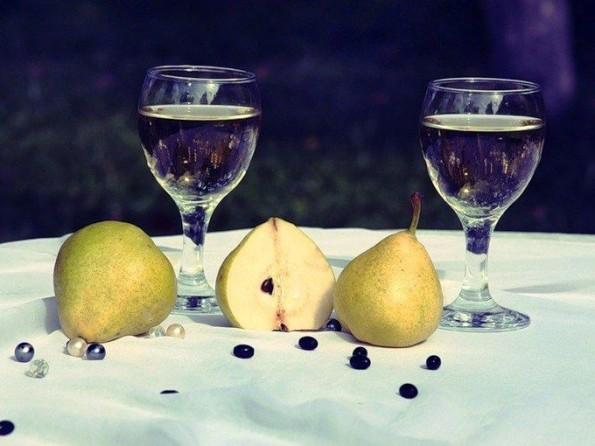 домашнее вино из груши