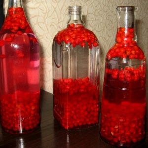 Настойки из ягод