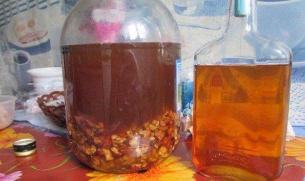 Настойка на изюме на водке