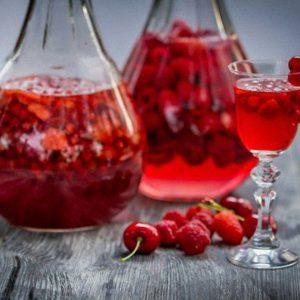 Наливка из ягод на водке