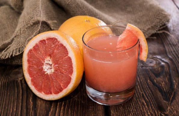 Настойка из грейпфрута на водке