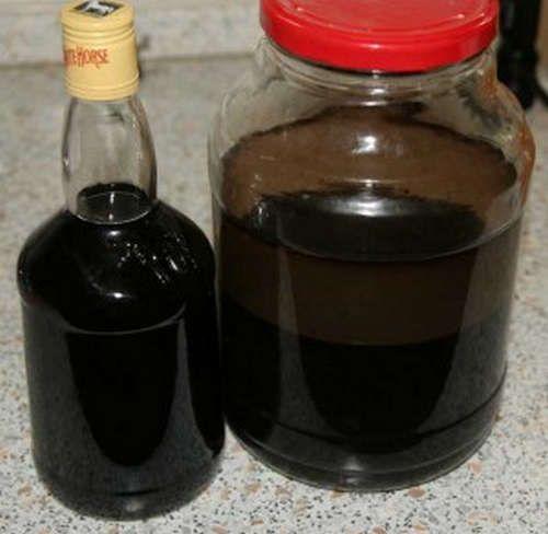 Настойка из фундука на водке