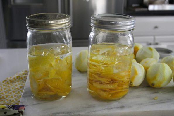 Настойка на лимонах