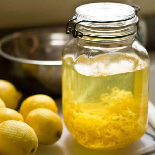 Лимончелло в банке