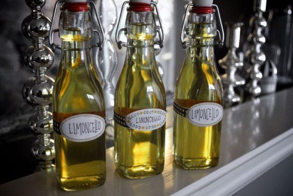 Настойка лимончелло