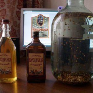 Настойка бородинская