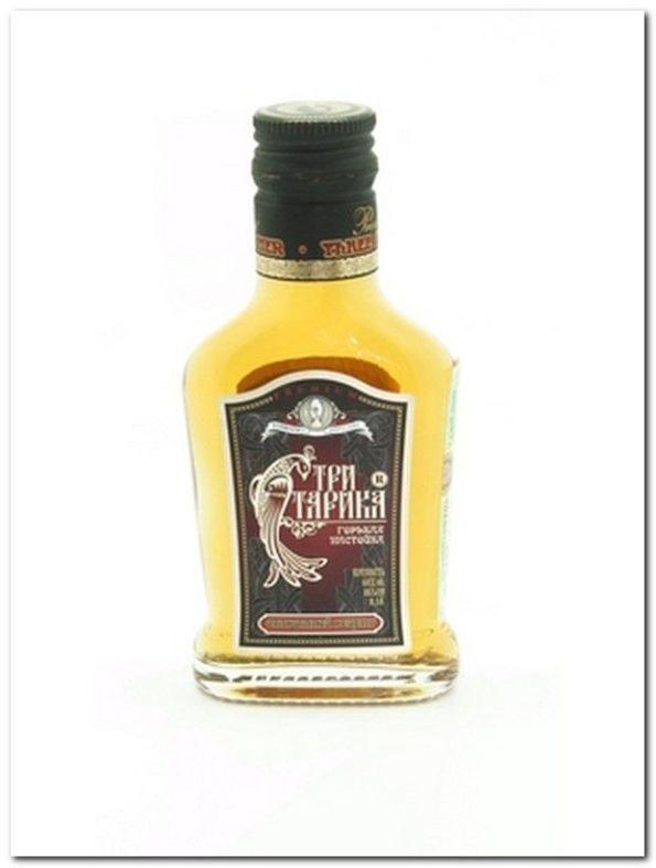 Бутылка с настойкой Три старика