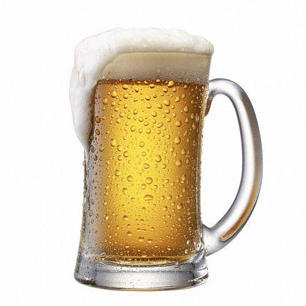 Светлое пиво в бокале