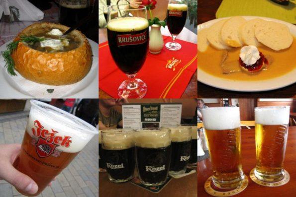 Чешское разливное пиво