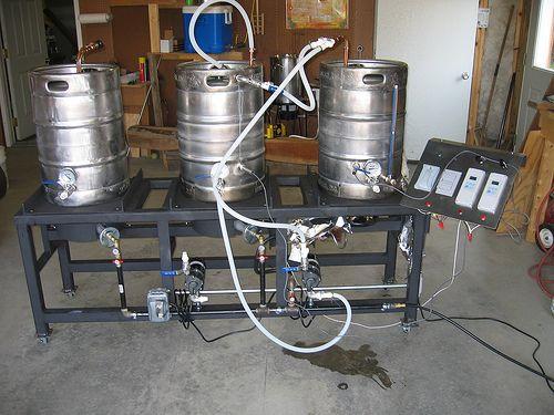 Самодельная домашняя пивоварня