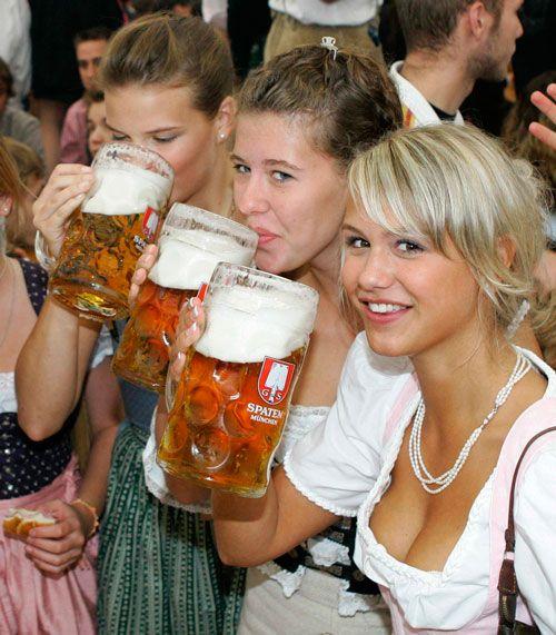 Как пьют немецкое пиво?
