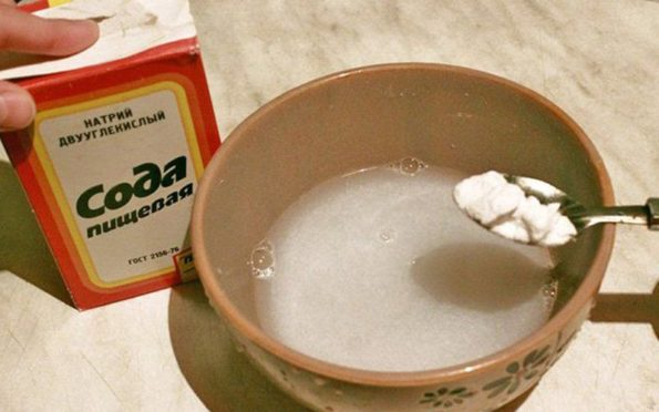 Сода от похмелья помогает