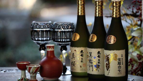 Японский напиток Саке