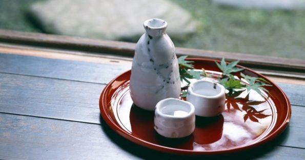 Рисовая водка из Японии