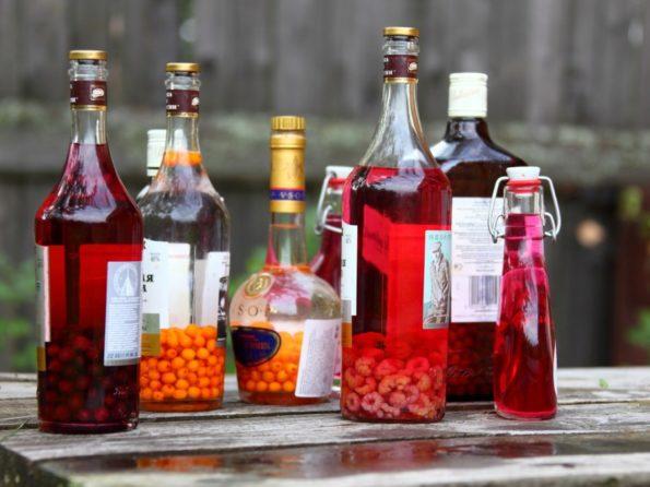 Настойки на спирте