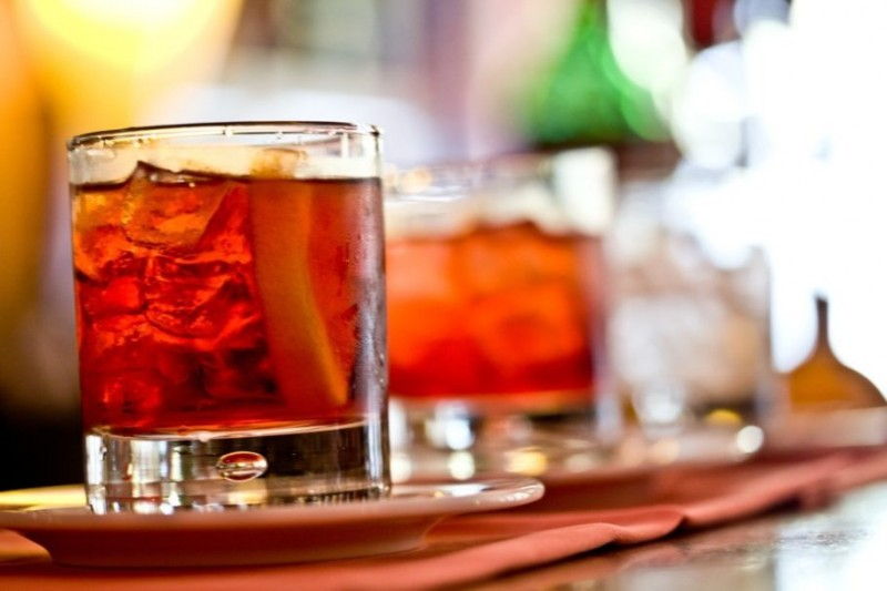 Коктейли с добавлением мартини