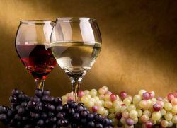 Калорийность красного и белого вина