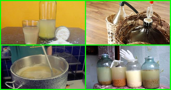 5 рецептов самогона из риса
