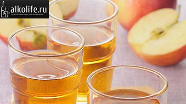 Какие напитки делают из яблок