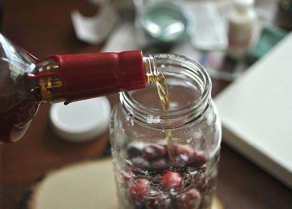 Рецепты клюквы на коньяке