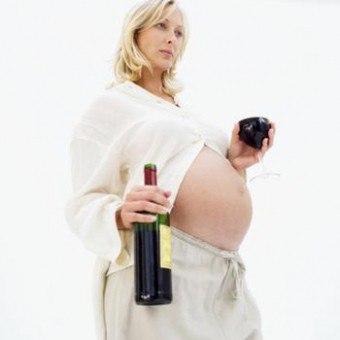 Можно ли вино при беременности